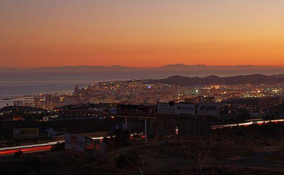 Costa del Sol mit Blick auf Marokko