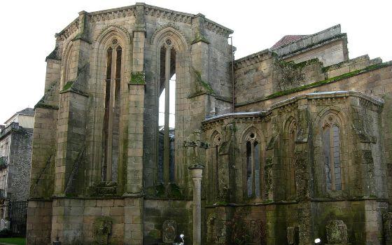 Kloster Ruinen Santo Domingo